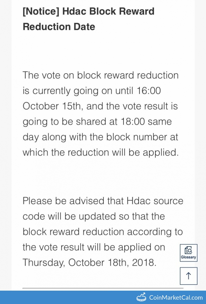 Block Reward Reduction image