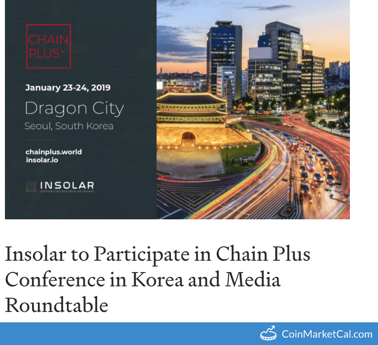 ChainPlus Conference image