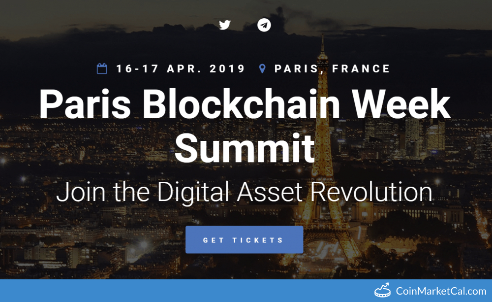 Paris Blockchain Week image