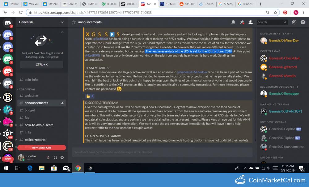 SPS Platform Release image