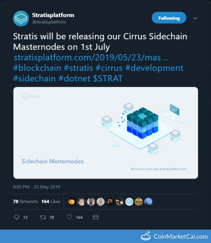 Cirrus Sidechain Masternodes image