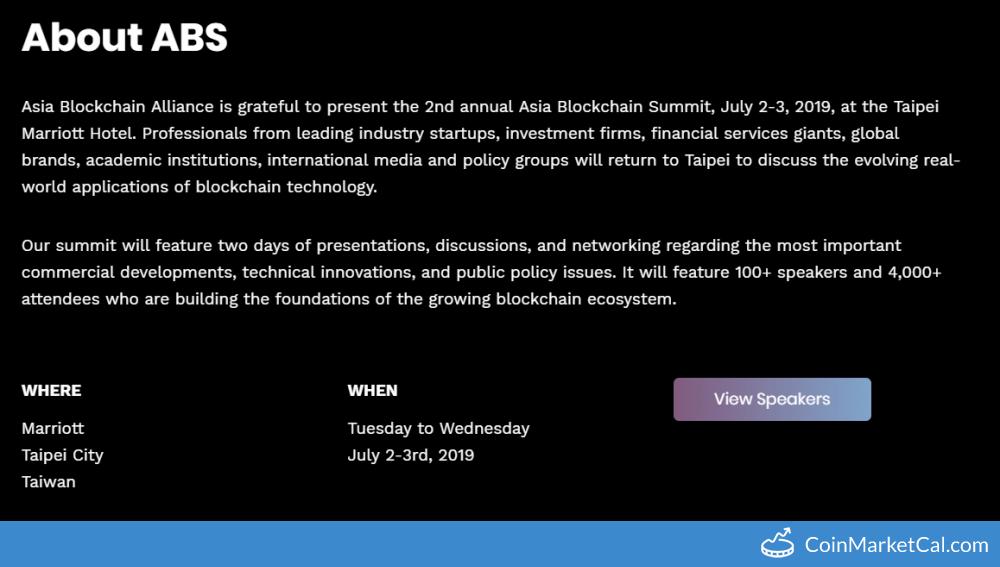 Asia Blockchain Summit image