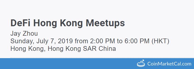 DeFi Hong Kong Meetup image