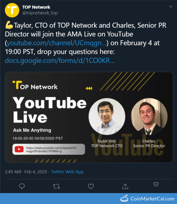 Live YouTube AMA image