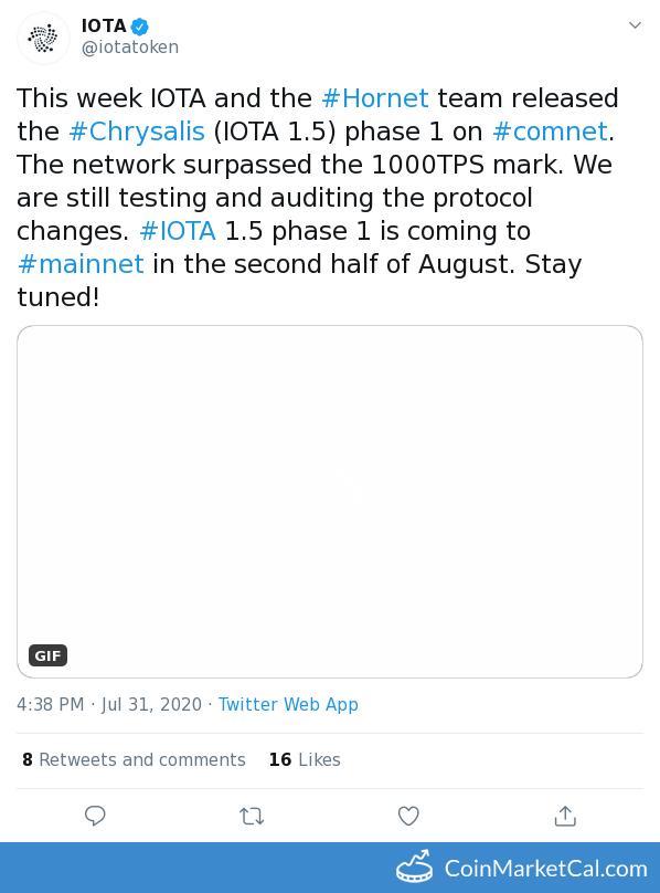 IOTA 1.5 Phase 1 image