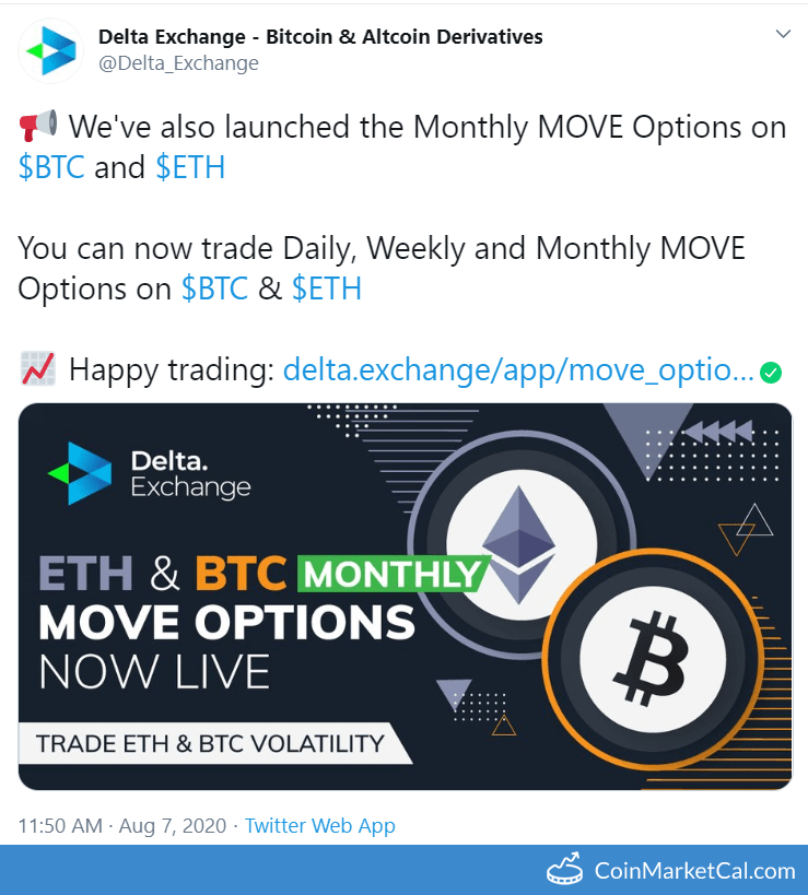 BTC & ETH Monthly Options image