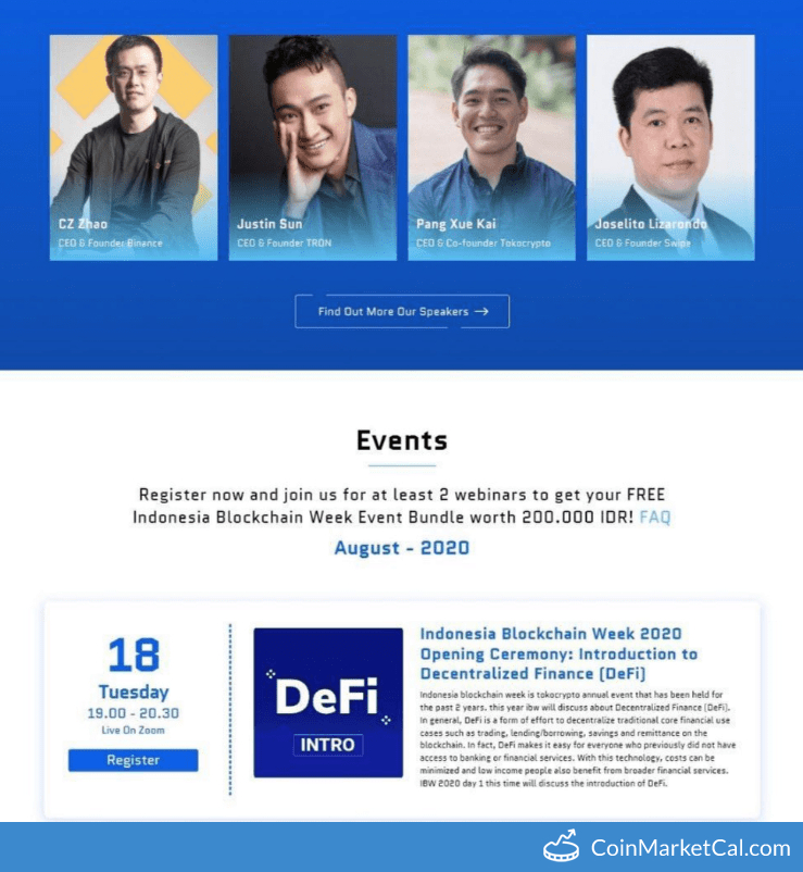 Indonesia Blockchain Week image