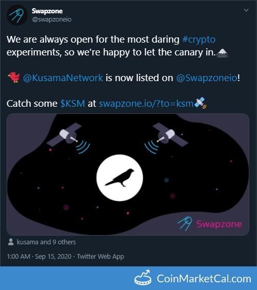 Swapzone Listing image