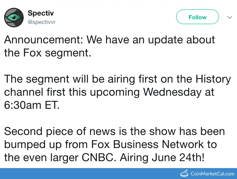 Spectiv Featured on CNBC image
